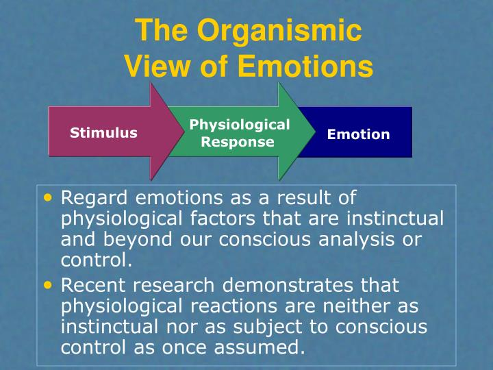 The Organismic