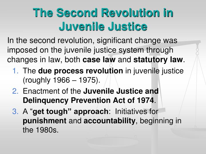 The Second Revolution in