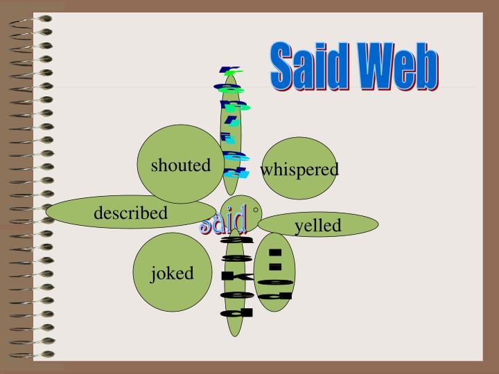 Said Web
