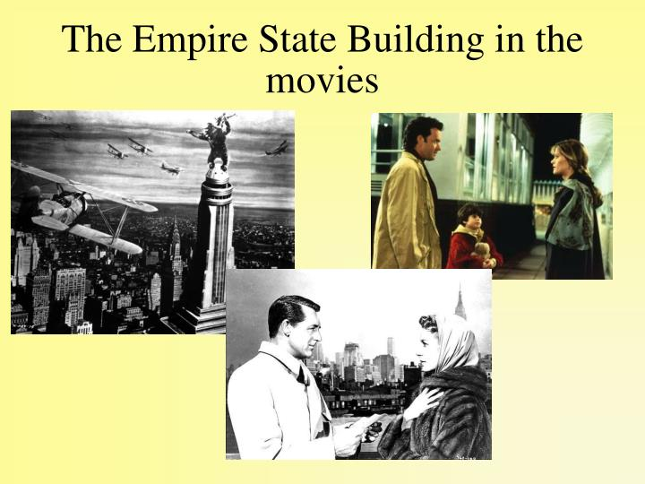 The Empire State Building in the movies