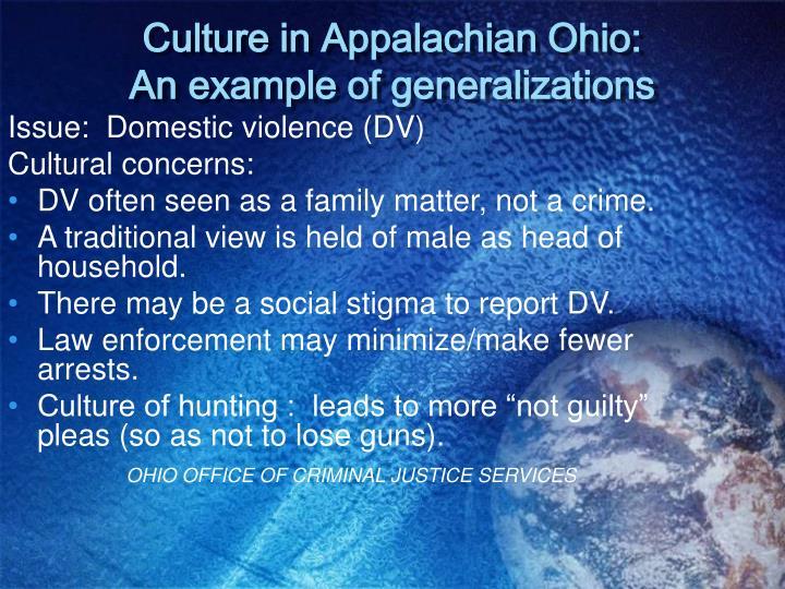 Issue:  Domestic violence (DV)