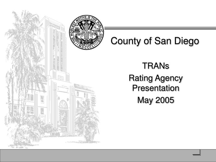 county of san diego n.