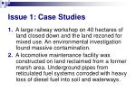 issue 1 case studies