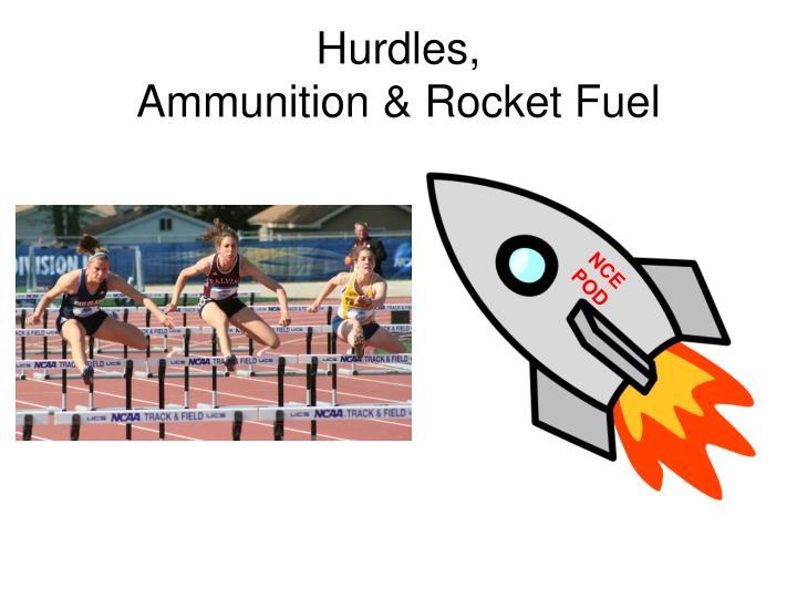 Hurdles,