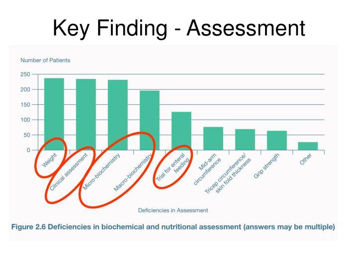 Key Finding - Assessment