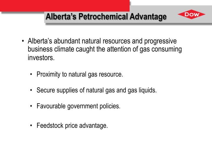 Alberta's Petrochemical Advantage