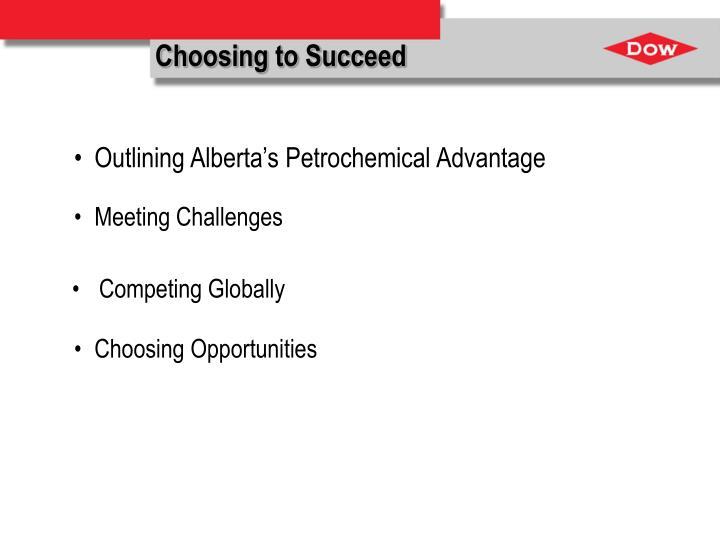 Choosing to succeed