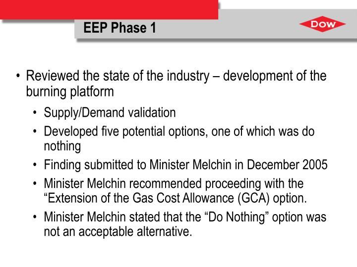 EEP Phase 1