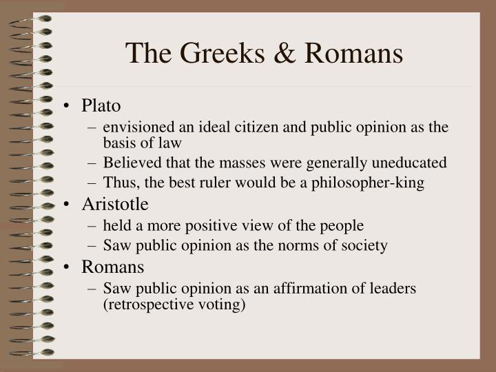 The Greeks & Romans