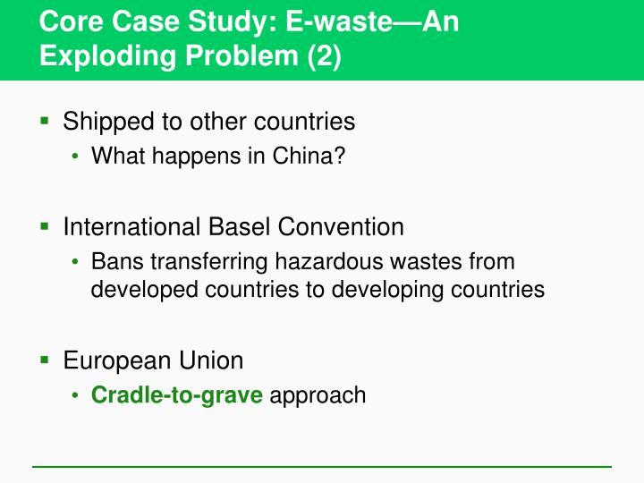 Core case study e waste an exploding problem 2