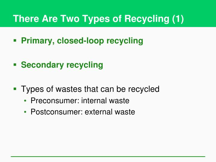 There Are Two Types of Recycling (1)