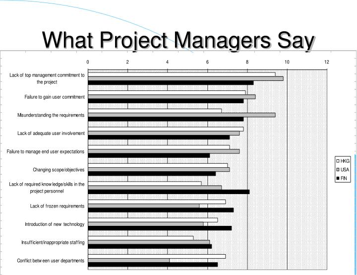 What Project Managers Say