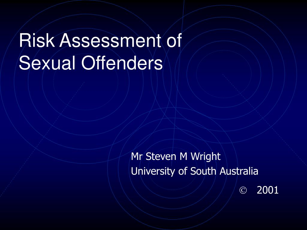 Acute sexual offender tool