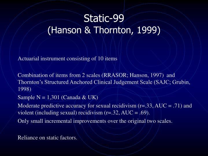 Static-99