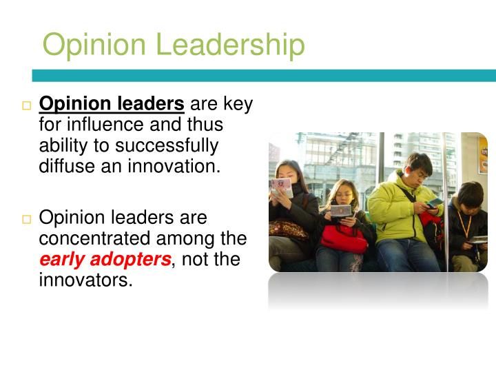 Opinion Leadership