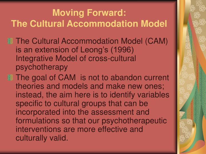 Moving Forward: