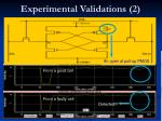 experimental validations 2