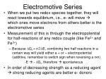 electromotive series