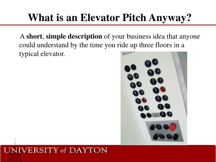 What is an elevator pitch anyway