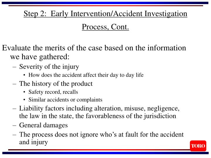 Evaluate the merits of the case based on the information we have gathered: