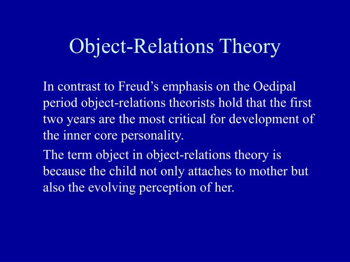 object relations theory summary