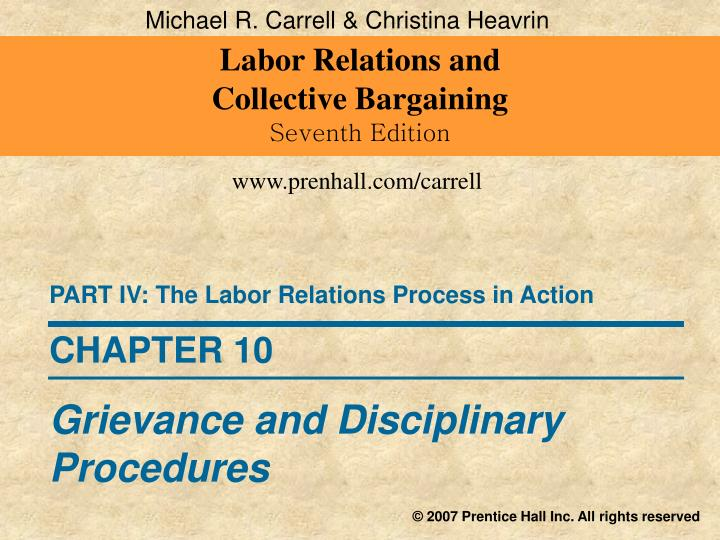 labor relations collective bargaining How do labor and management view collective bargaining joel cutcher-gershenfeld, thomas a kochan, and john calhoun wells in labor-management relations.