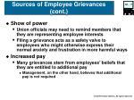 sources of employee grievances cont1