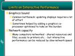 limits on interactive performance1