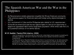 the spanish american war and the war in the philippines