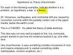 hypothesis vs theory discriminator26