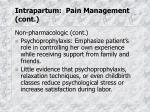 intrapartum pain management cont3