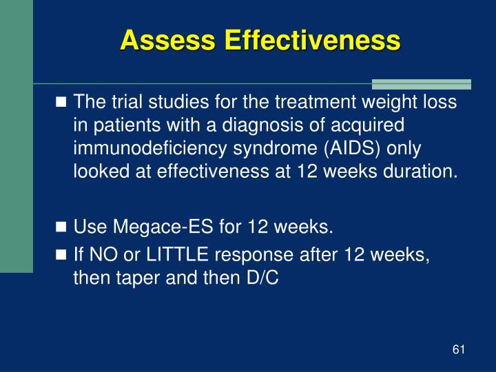 Assess Effectiveness