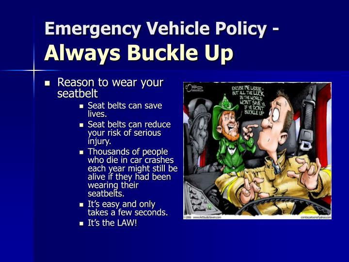 Reason to wear your seatbelt