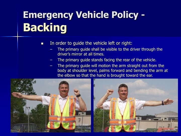 Emergency Vehicle Policy -