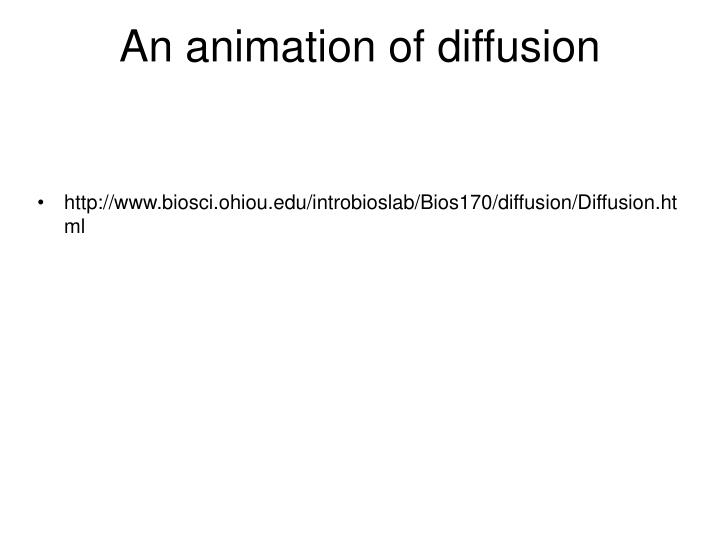 An animation of diffusion