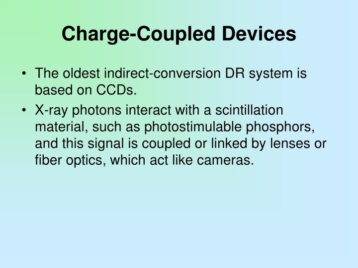 Charge-Coupled Devices