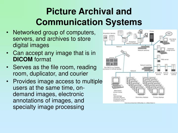 Picture Archival and