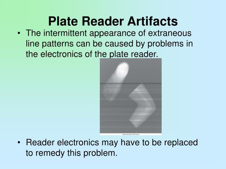 Plate Reader Artifacts