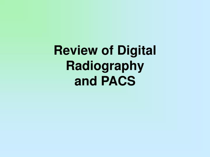 Review of Digital