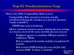 trap 2 nondiscrimination traps6