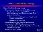 trap 4 disqualifying coverage13