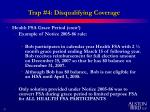 trap 4 disqualifying coverage15