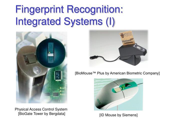 [BioMouse™ Plus by American Biometric Company]