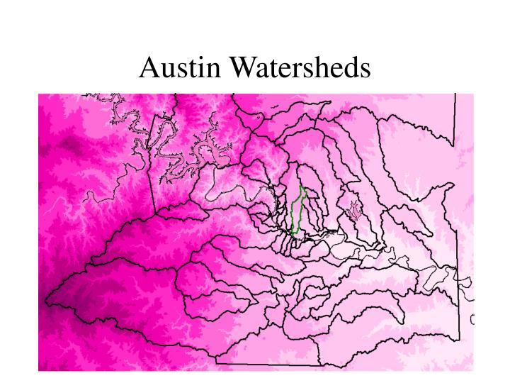 Austin Watersheds