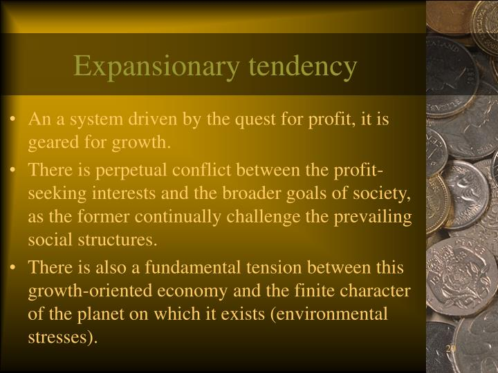 Expansionary tendency