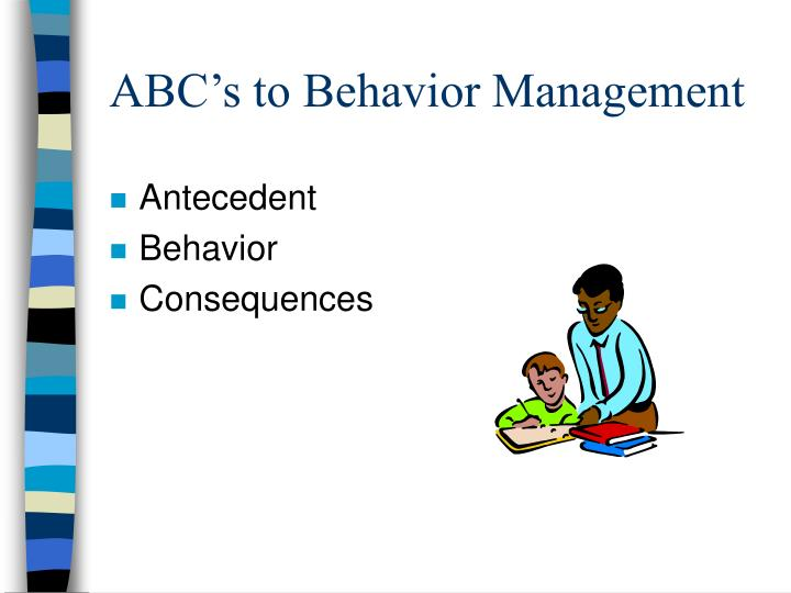 ABC's to Behavior Management