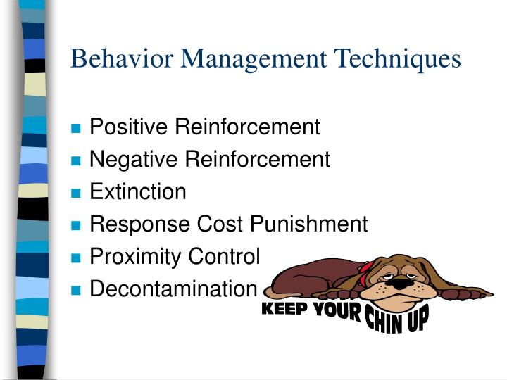 Behavior Management Techniques
