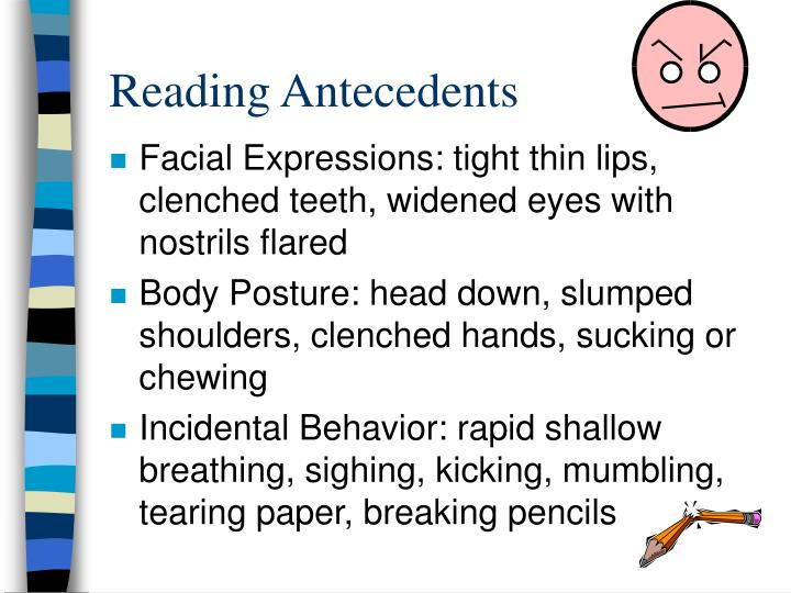 Reading Antecedents