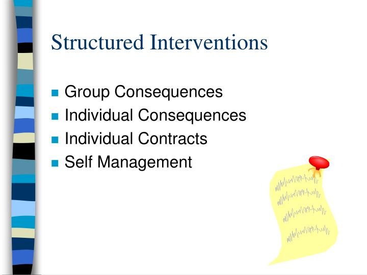 Structured Interventions