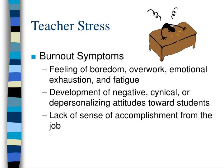 Teacher Stress